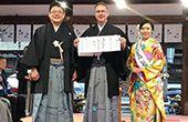 Alex Koblinger erster österreichischer Sake Samurai