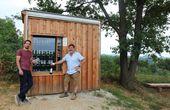 Top-Bewertung und neue Vinothek mitten im Weingarten