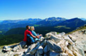 Ferien in den Dolomiten: Kühler Kopf statt drückender Hitze