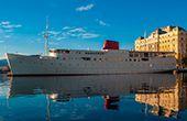 Region Kvarner: Nostalgie-Fährschiff als Design-Schiffshotel