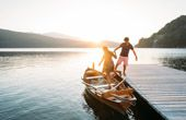 Romantik-Urlaub direkt am See