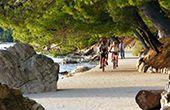 Insel Rab - mit dem Bike zum Robinson-Strand