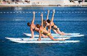 Stand-up-Paddling als Frischluftsport - der neue Hit in der Kvarner Bucht