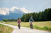 Raderlebnis in den Dolomiten – ganz ohne Muskelkraft