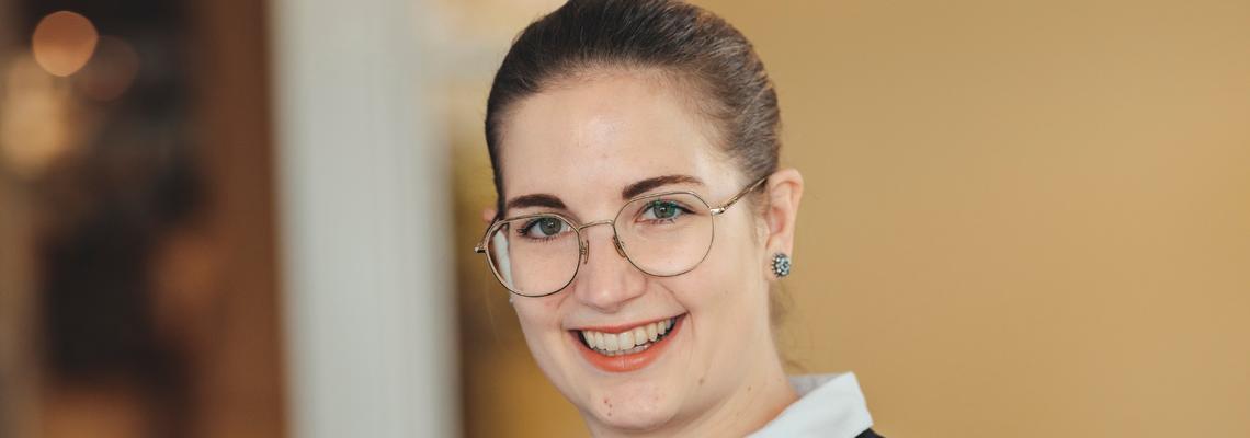 Katharina Gnigler neue Chef-Sommelière im Landhaus Bacher in der Wachau