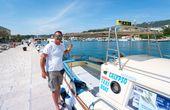 Mit dem Taxiboot zum Traumstrand in der Kvarner Bucht