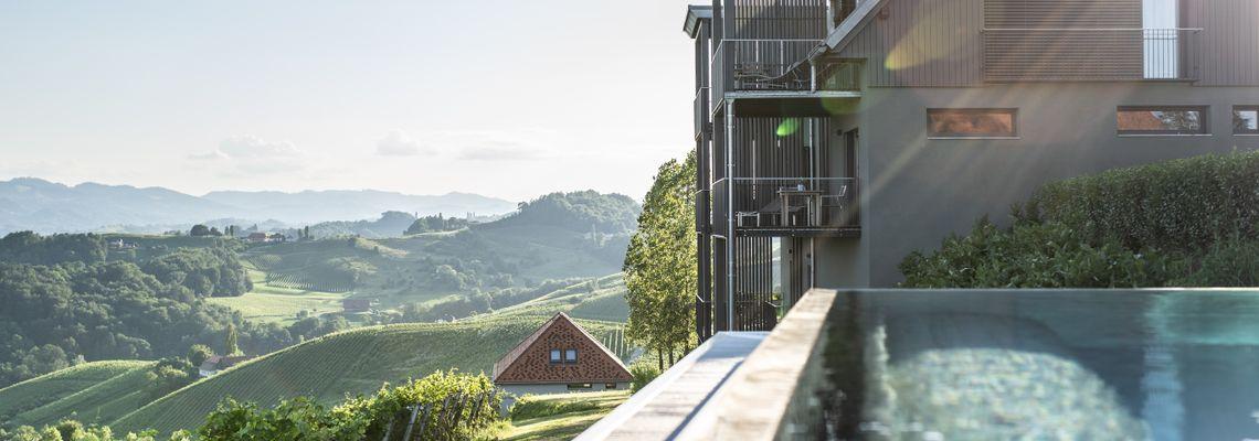 Winzarei: Wohnen in den Weinbergen